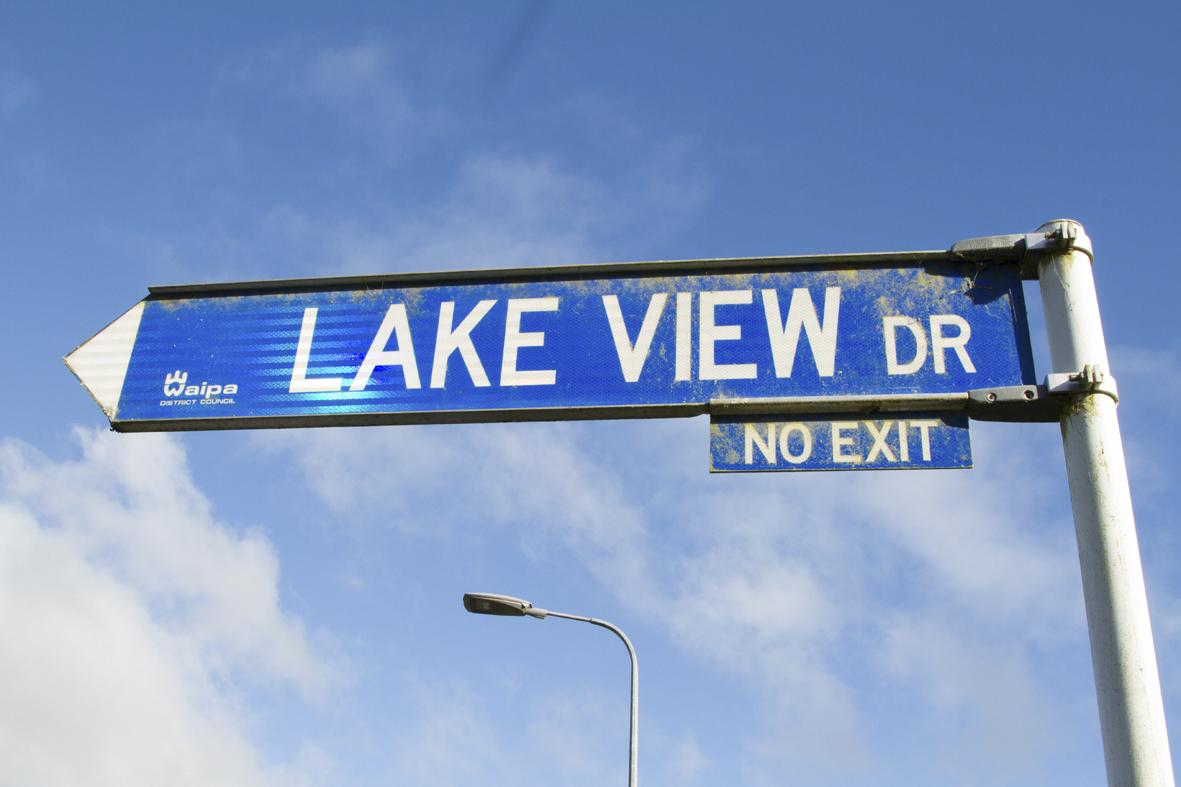 Karapiro Lake View post LR